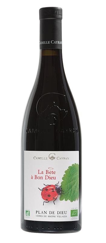 La Bête à bon dieu, Organic Côtes du Rhône Villages Plan de Dieu